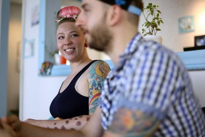 eat your kimchi tattoos, Martina Stawski