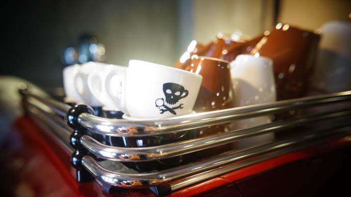 pirate espresso cup