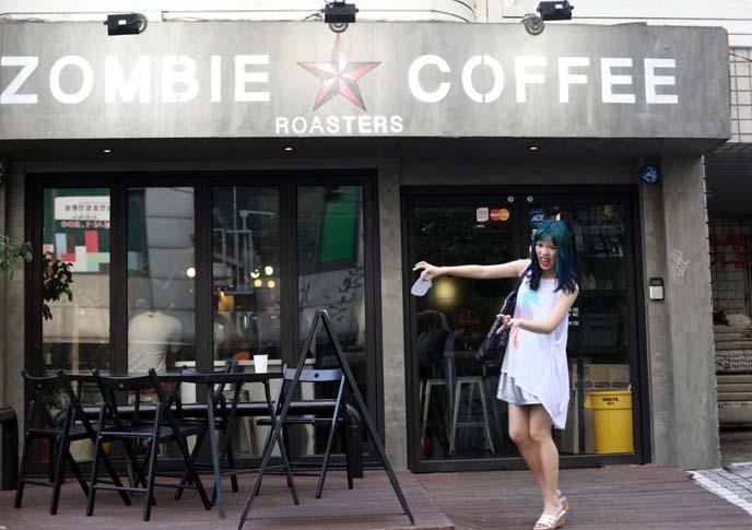 hongdae specialty coffeeshop