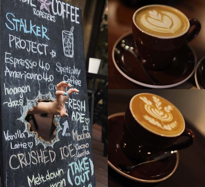hongdae zombie lattes