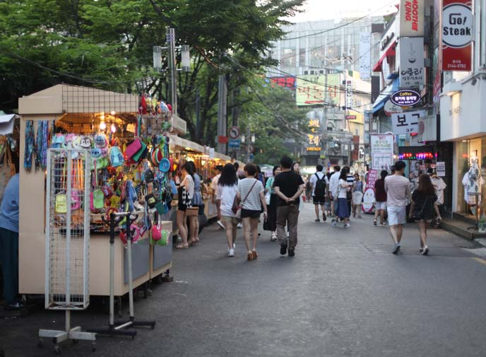 hongdae free market, 홍대앞