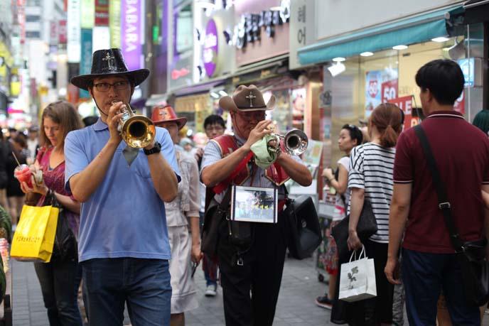 seoul street musicians