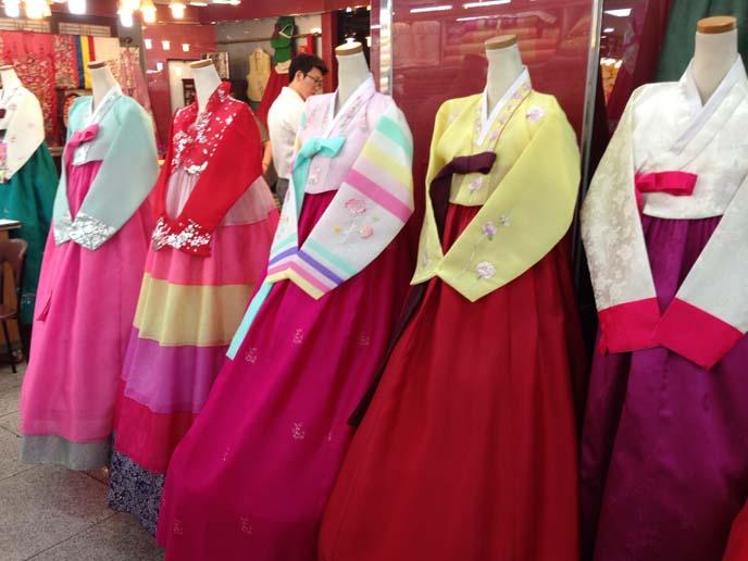 korea hanbok stores