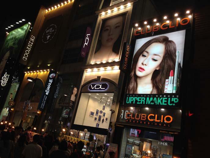 kpop makeup models seoul