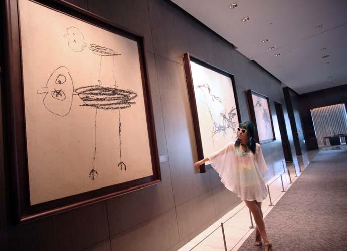 ye Yongqing bird drawings
