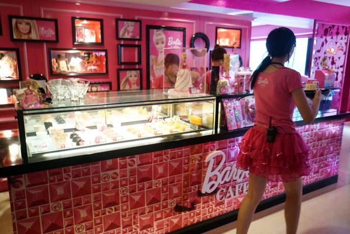 barbie cafe costume, waitress uniforms