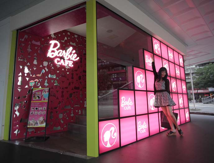 barbie themed restaurant taipei