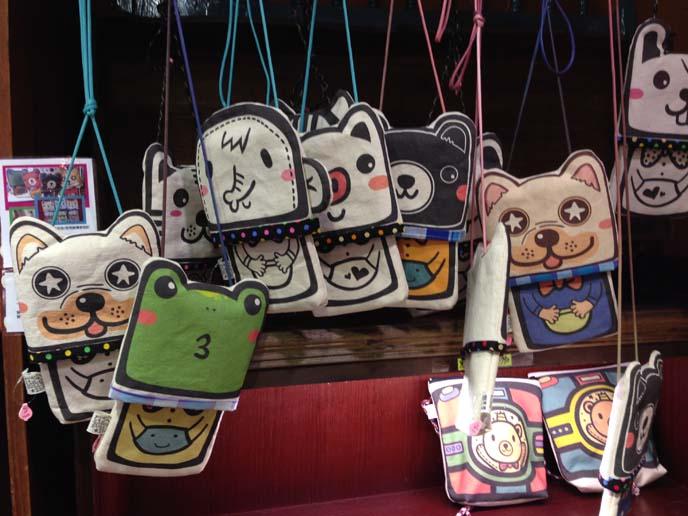 taiwan character mascots shops