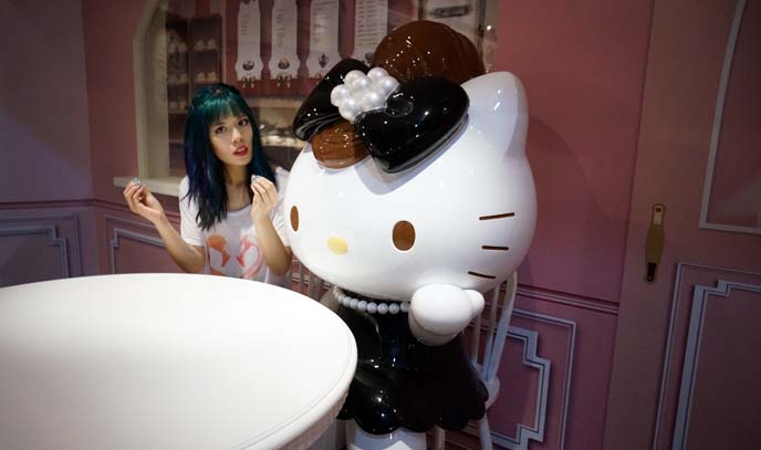 hello kitty anniversary exhibit taiwan