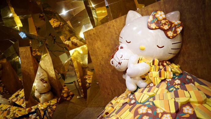 gustav klimt hello kitty