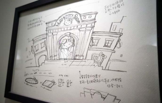 sanrio concept sketches