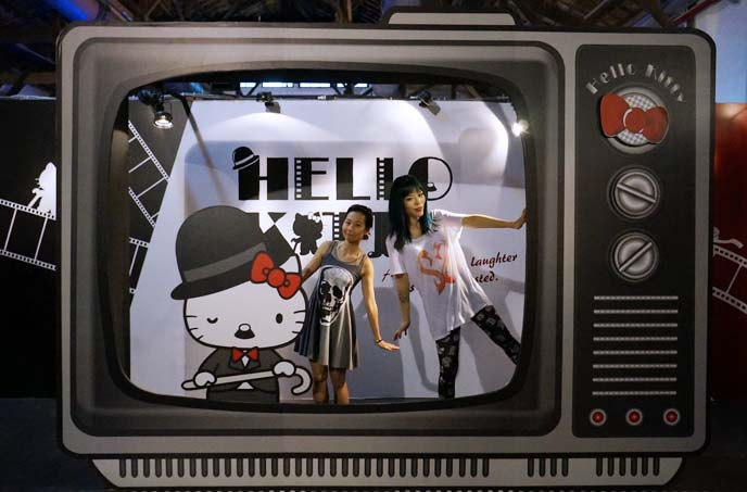 charlie chaplin hello kitty