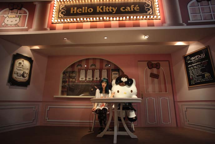 hello kitty restaurant, taipei