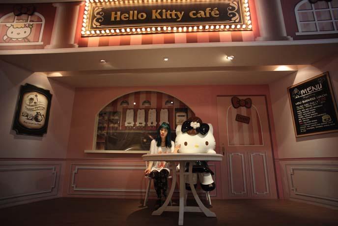 hello kitty restaurant, taipei