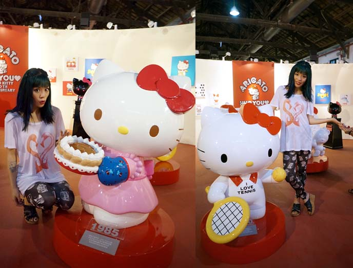 hello kitty museum, design evolution
