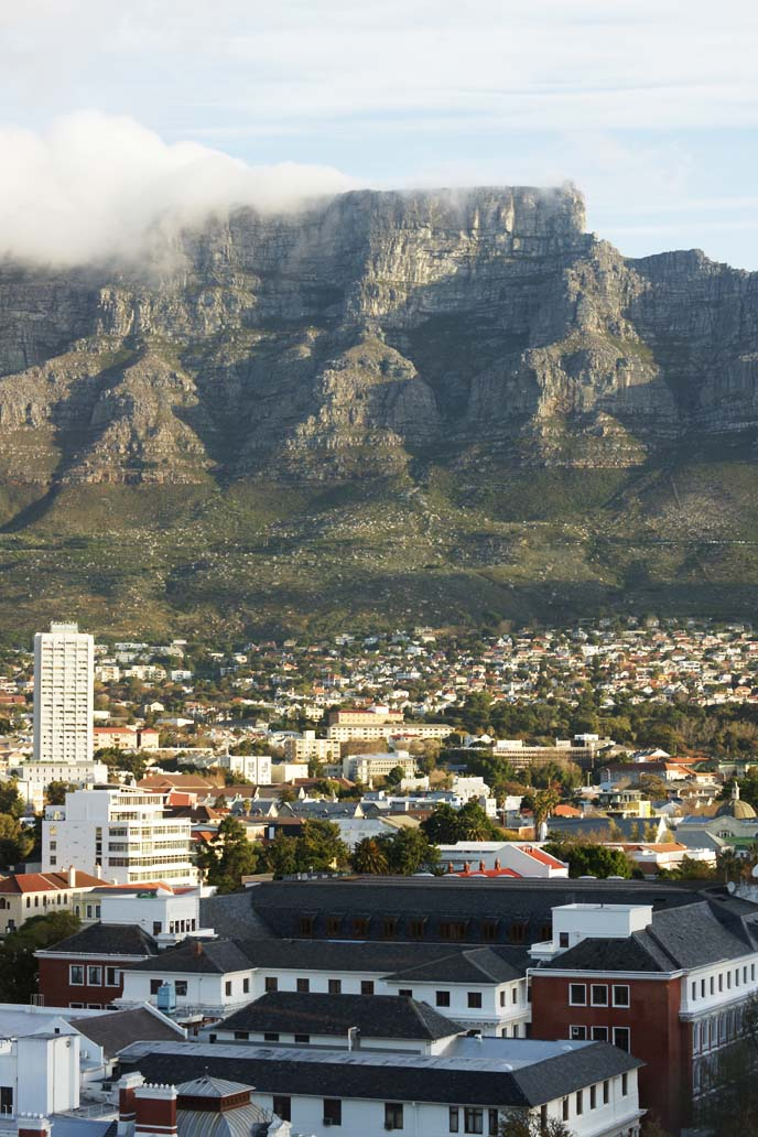 table mountain, cloud tablecloth