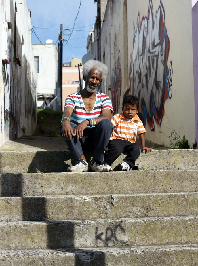 cape malay child, cape town africans