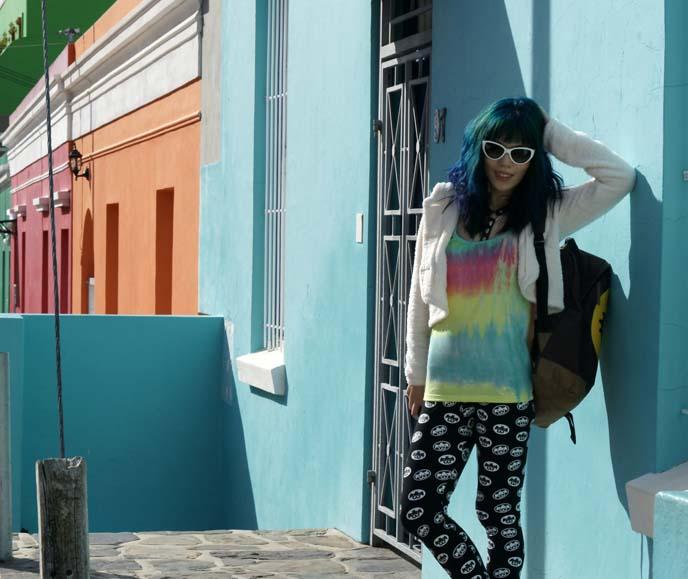 wale street blue house bo kaap