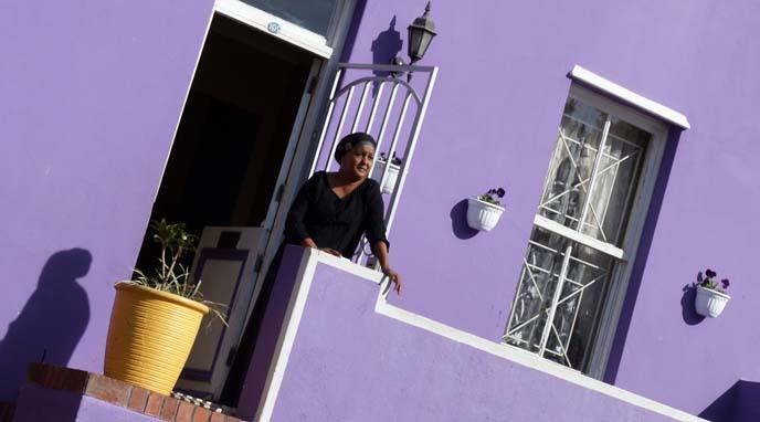 purple house boo kaap, Faldela Tolker