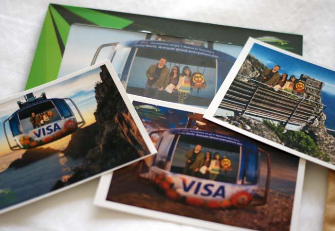 Table Mountain Aerial Cableway souvenir photos