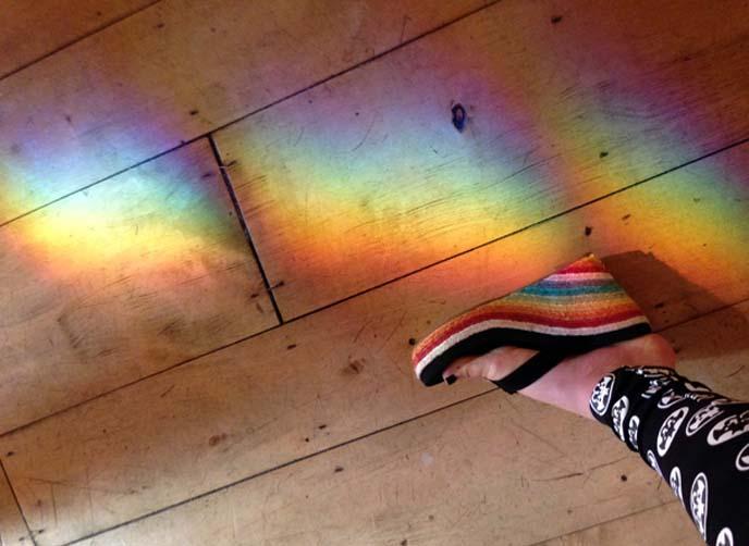 rainbow shoes, sandals