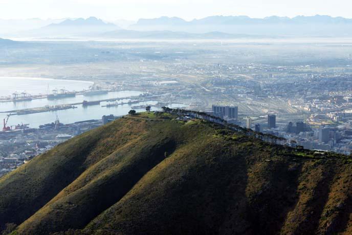 cape town mountain range