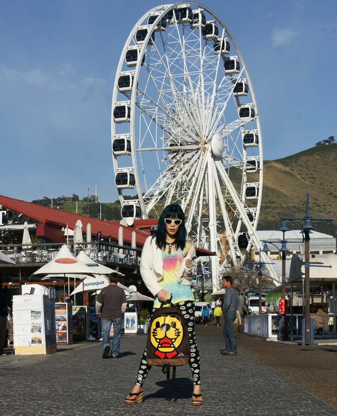 cape town ferris wheel, pier