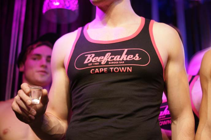 beefcakes muscle men waiters