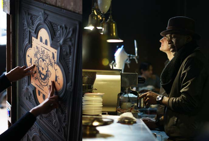 steampunk coffee shop, truth roasters