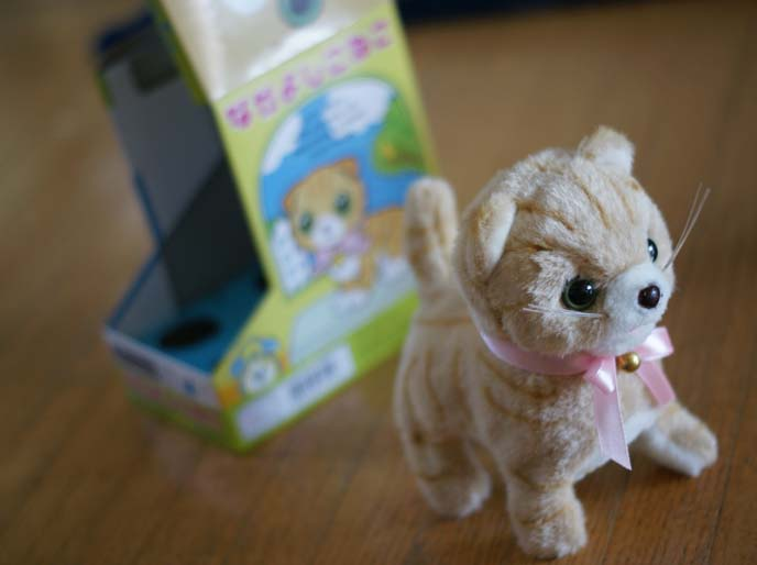 japanese toy robot cat
