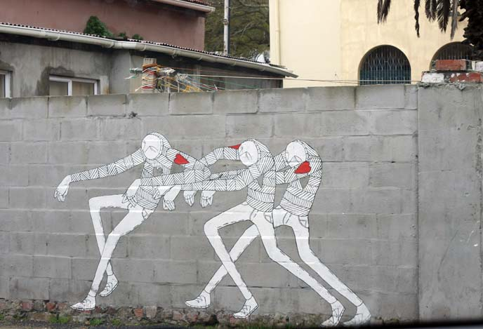 israeli artist wall painting