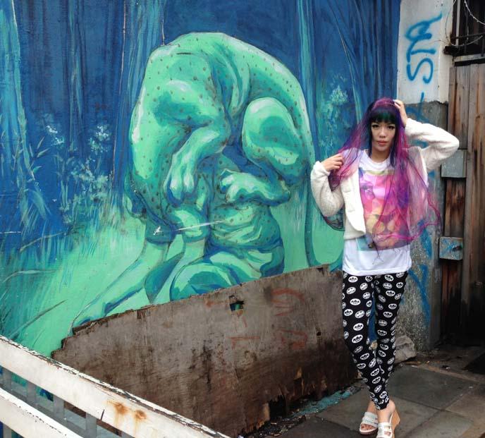 JAZ not eating mural
