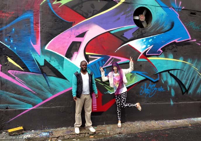 woodstock murals art tours, rainbow nation