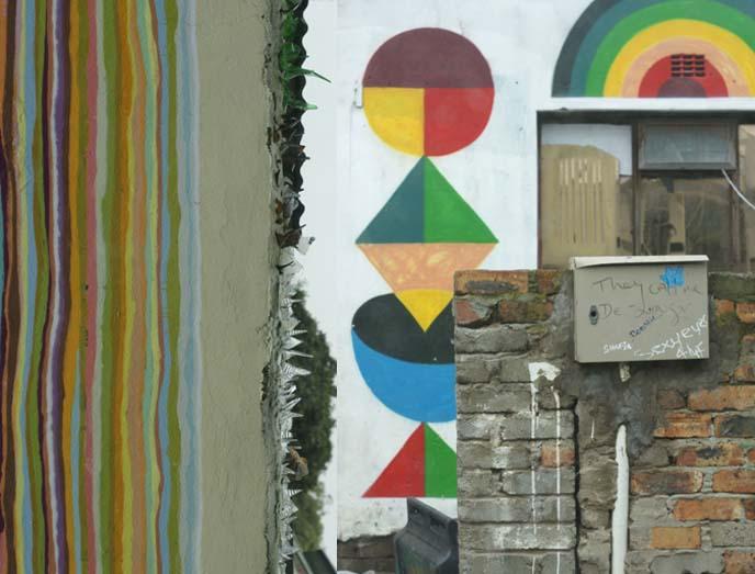 Spanish artist Remed mural cape town