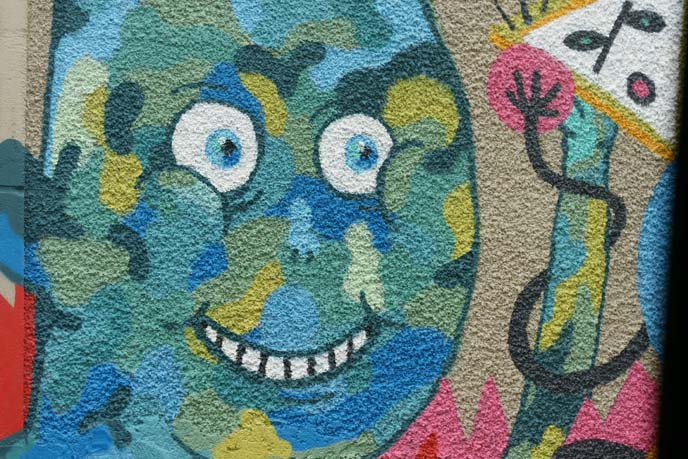 evil bart simpson graffiti