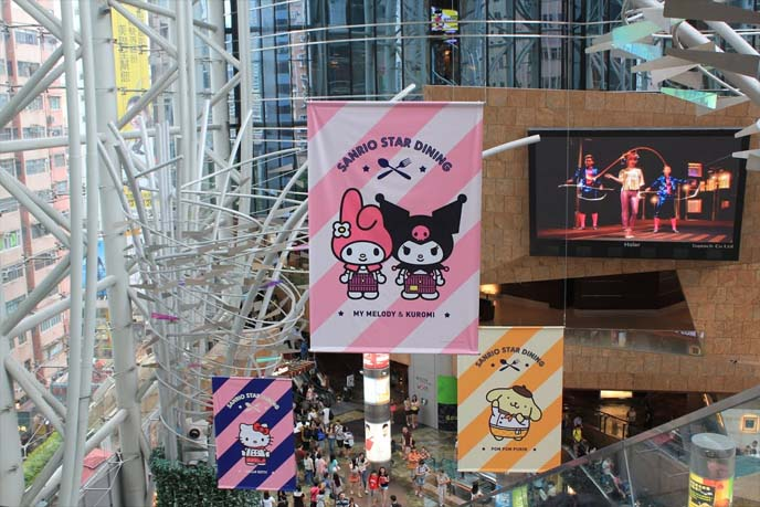 my melody and kuromi cafe