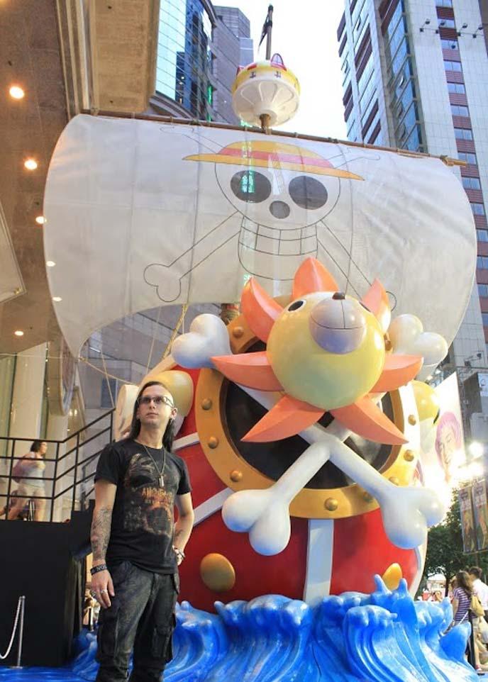 one piece pirate ship