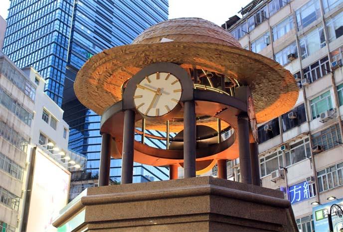 causeway bay times square clock