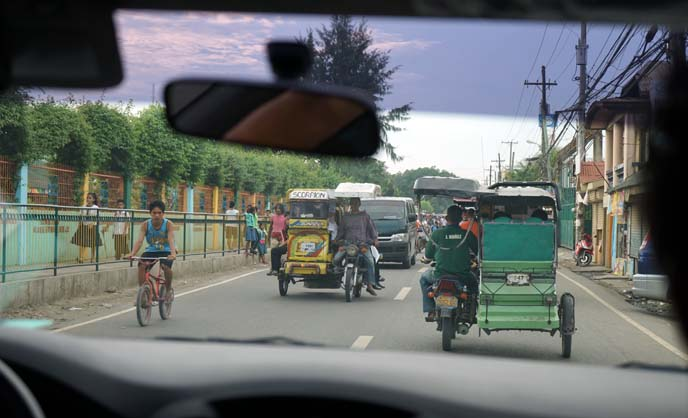 filipino cars, motorized tricycle