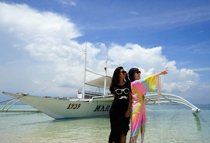 cebu boat, caohagan beach