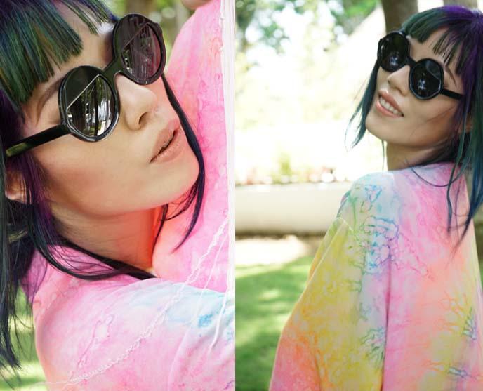 ksubi bellatrix round sunglasses