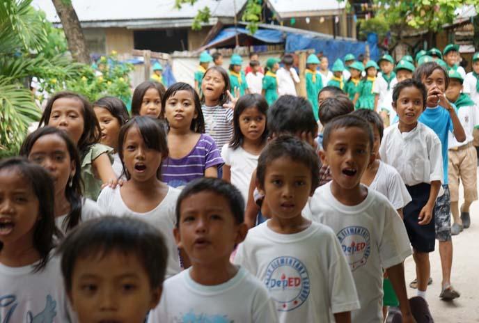 filipino kids parade