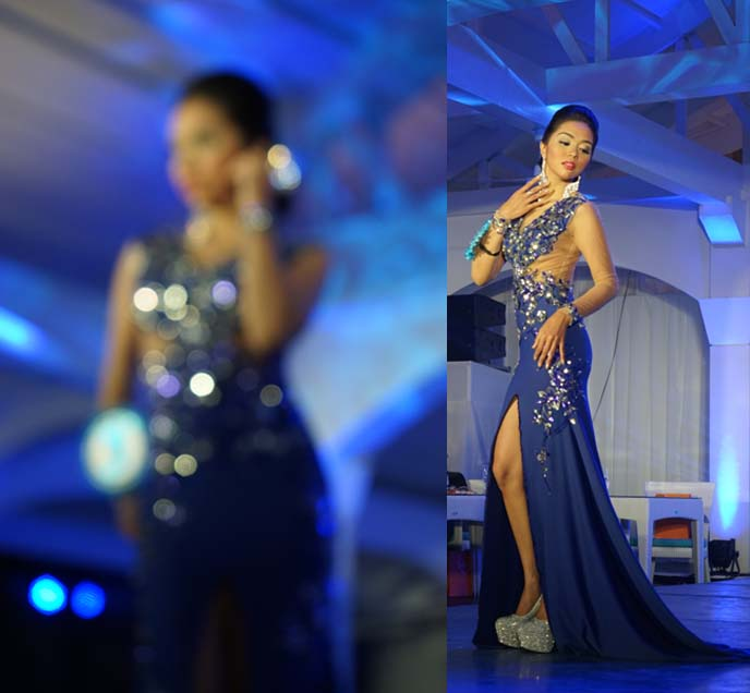 evening gown contest, miss scuba