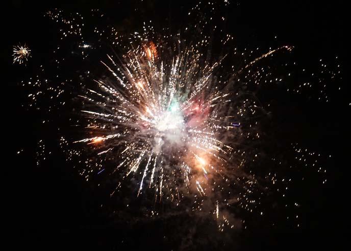 sony dslr fireworks