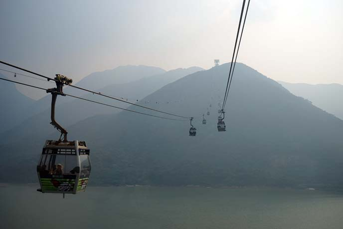 lantau island cable cars