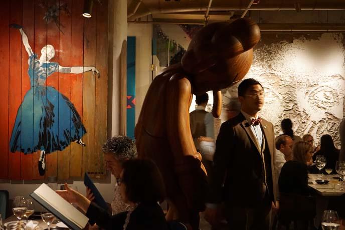 art restaurants, bibo
