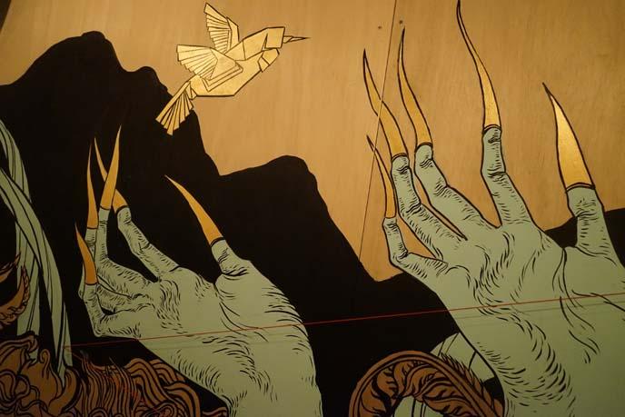 long gold thai nails