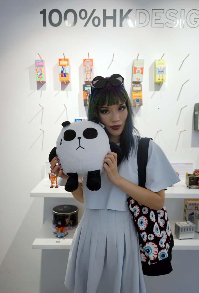 hong kong design panda