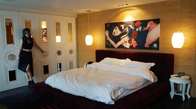 penthouse bedroom boutique hotel