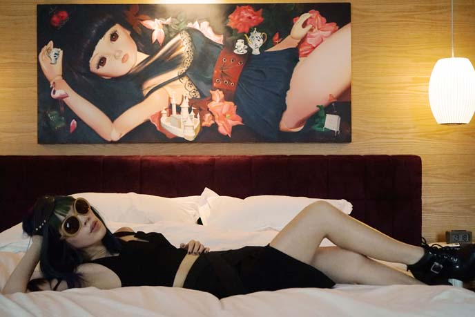 chinese anime girl, living doll